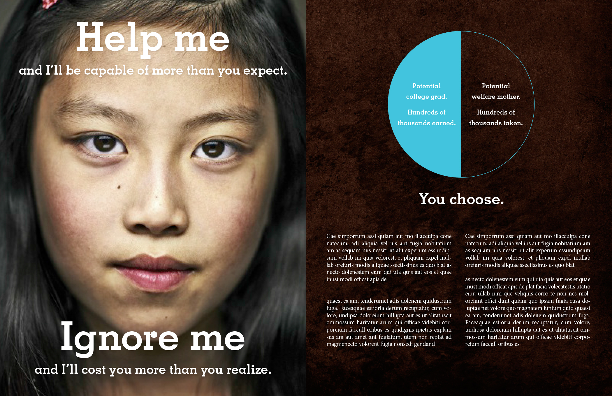unbranded donor campaign
