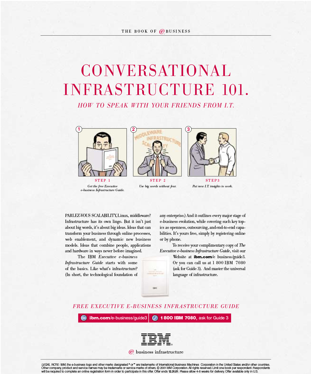 IBM infrastructure drive to guide